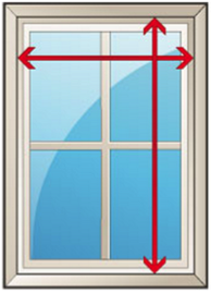 measuring windows image