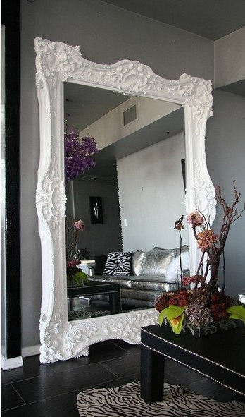 Maximising space with a mirror