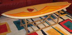 Surfboard Bench 3