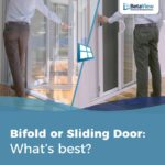 bi-fold or sliding door