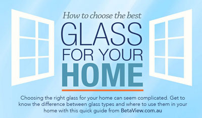 Choosing glass for your home - banner