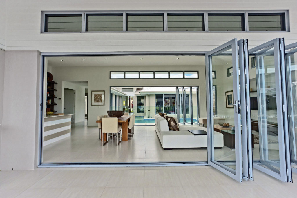 Large Bifold doors